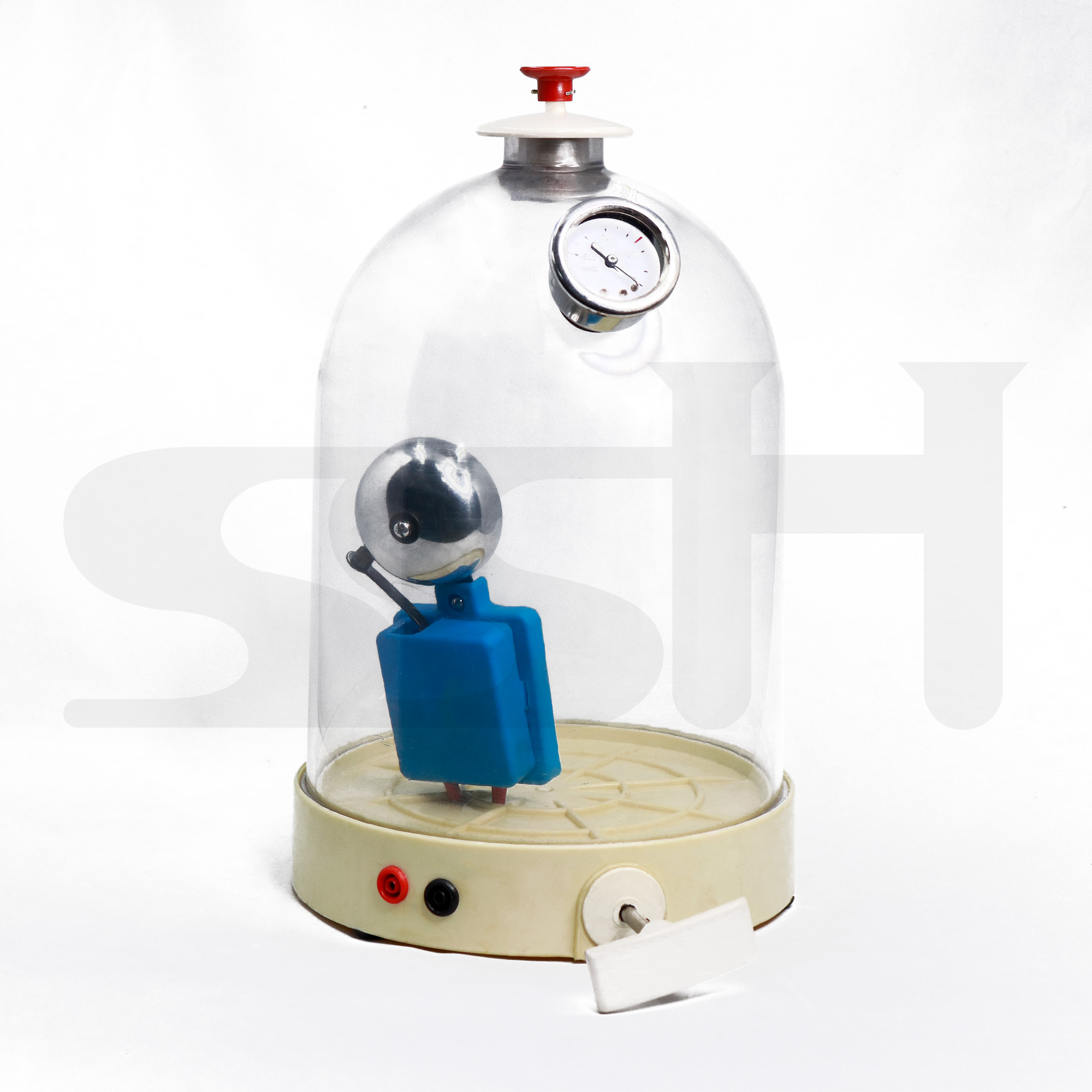 Bell Jar With Vacuum